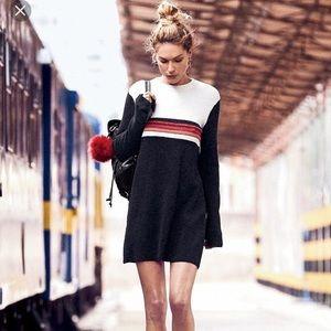 Free People Colorblock Colorblock Swit Mini Dress